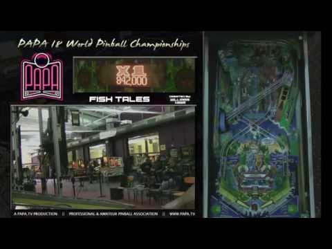 PAPA 18 World Pinball Championships