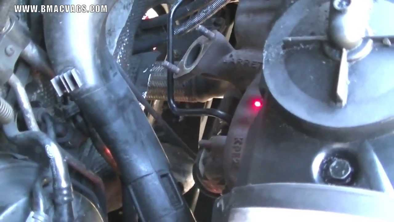 How To Remove A Vw Tdi Turbo Charger Youtube