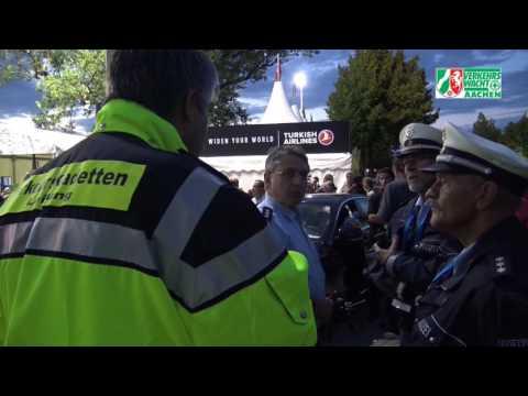 Verkehrskadetten Aachen Einsatz am CHIO Dienstag