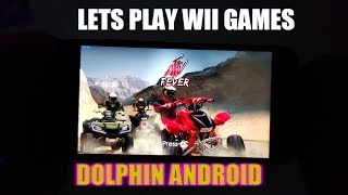 ATV Fever Wii Game on Android using Dolphin Emulator Adreno 540/FHD video