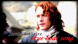Jamie and Claire || Sky Boat Song --- Outlander theme [200+ subs!!!!!]