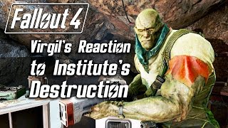Gambar cover Fallout 4 - Virgil 's Reaction to Institute's Destruction (Super Mutant version, no serum)