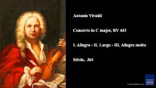 Gambar cover Antonio Vivaldi, Concerto in C major, RV 443, I. Allegro - II. Largo - III. Allegro molto