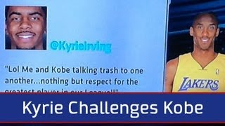 Kyrie Irving Challenges Kobe Bryant