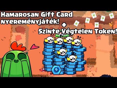 SZINTE VÉGTELEN TOKEN + Gift Card nyereményjáték! Brawl Stars magyarul
