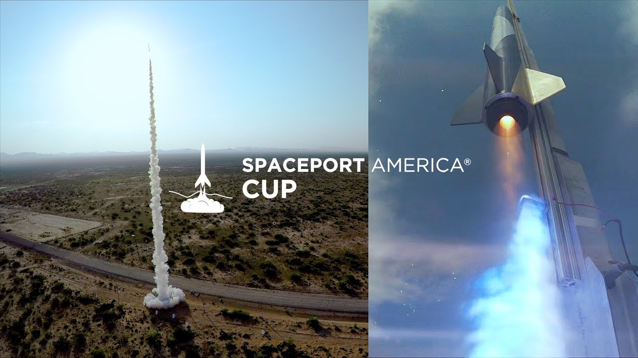 GoPro Hero6: The First Spaceport America Cup in 4K