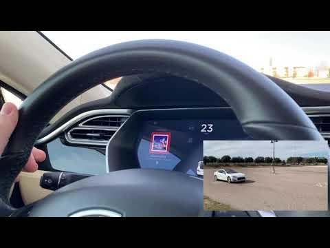 Lätt att lura Teslas bilar att köra för snabbt Det räcker med lite tejp