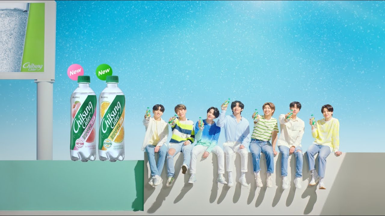 BTS roll out their fun fruit dance moves in latest 'Chilsung Cider ...