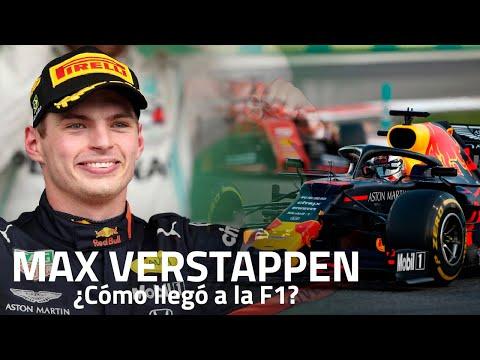 La carrera de MAX VERSTAPPEN | Cmo lleg hasta la F1?