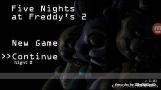 5 ночей с Фредди 5 ночь МЫ ПРОШЛИ ИГРУ С ПЕРВОГО РАЗА