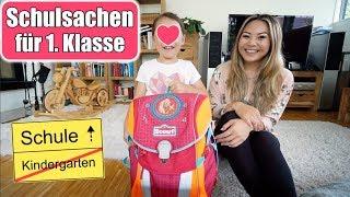 Claras Schulsachen für 1. Klasse 📚 Einschulungs Haul | Elisa ließt vor! Neues Hobby | Mamiseelen
