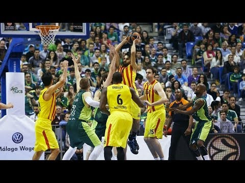Highlights: Unicaja Malaga-FC Barcelona