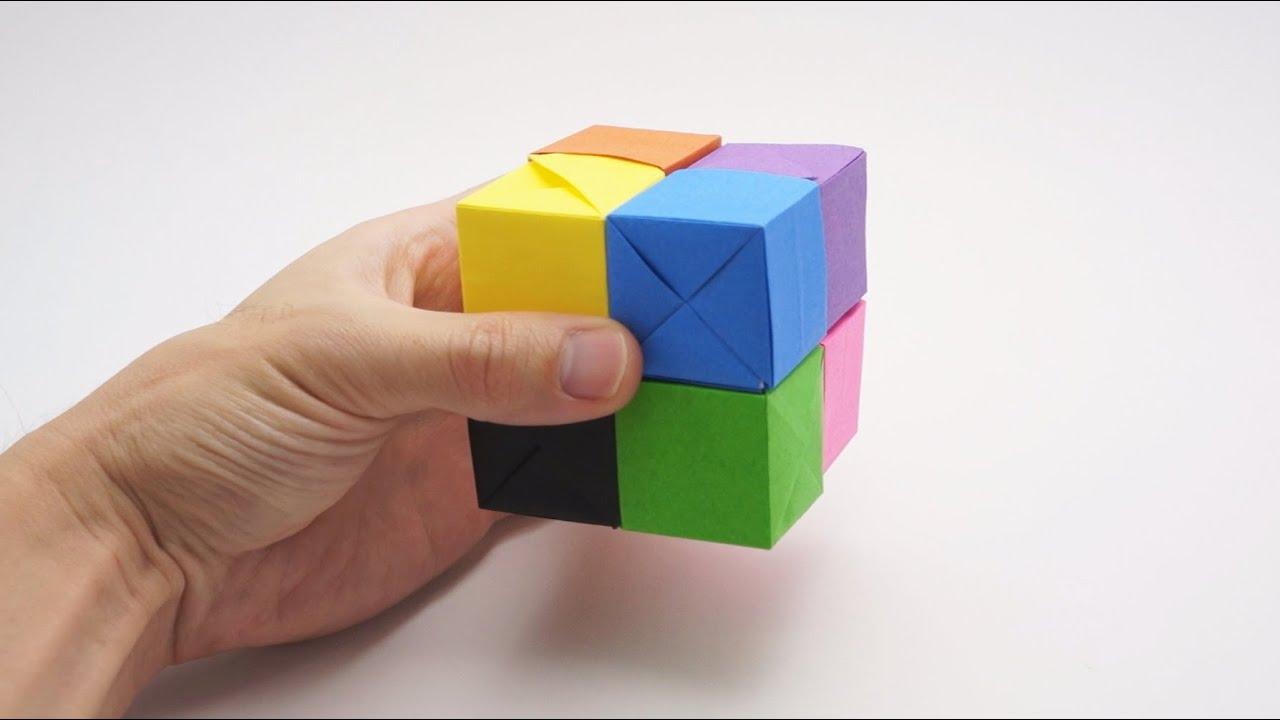 Origami Moving Cubes – Jo Nakashima