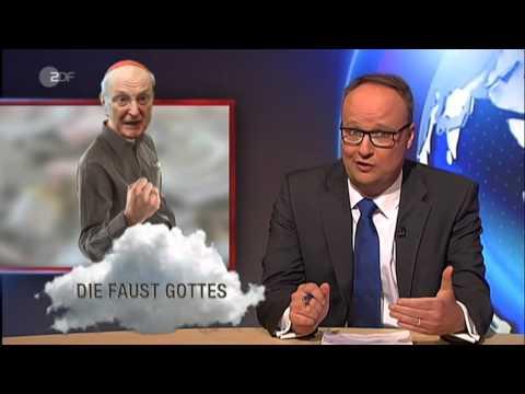 Die Faust Gottes - Kardinal Meissner - Heute-Show