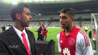 Ajax CT vs Wolfsvurg Post Match Interview Cecil Lolo & Travis Graham
