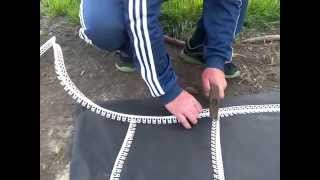 видео Клумбы бетонные в ландшафте