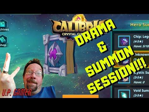 Calibria Crystal Guardians - DRAMA & SUMMON SESSION | U.P. Gamer | 03-22-2020