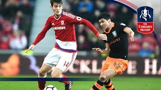 Middlesbrough 3-0 Sheffield Wednesday - Emirates FA Cup 2016/17 (R3) | Goals & Highlights