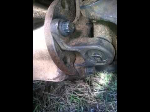 1995 F 150 Driveshaft Removal Youtube