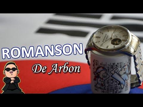 Review - Romanson De Arbon (RWCARM5A10) - Montre du matin calme
