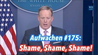 Brand bei der SPD & Trumps erste Woche - Aufwachen Podcast #175 (inkl. Facecams)