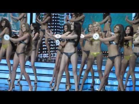 Танцы в купальниках Мисс Россия 2016
