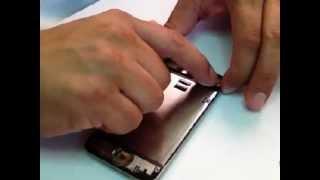 iPod Touch 4G, Como cambiar la pantalla rota ( Parte 1 )