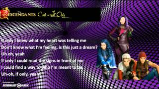 Descendants Cast - If Only (Lyrics)