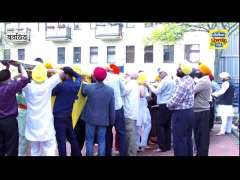 Khalsa Sajna Diwas (vaisakhi) Berlin Germany 170416 (Media Punjab TV)