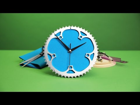 DIY + Sell It | Upcycled Gear Clock
