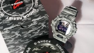 casio g shock gdx 6900cm 8er review hd