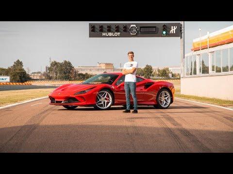 Mick Schumacher giró en Fiorano con una Ferrari F8 Tributo
