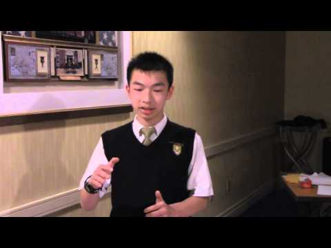 2014 NHBB Interview With Austin Nguyen - Saint Anthony's School - Huntington, NY