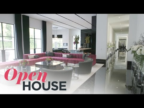 $39 MILLION Mansion on the Bel Air Country Club | Open House TV