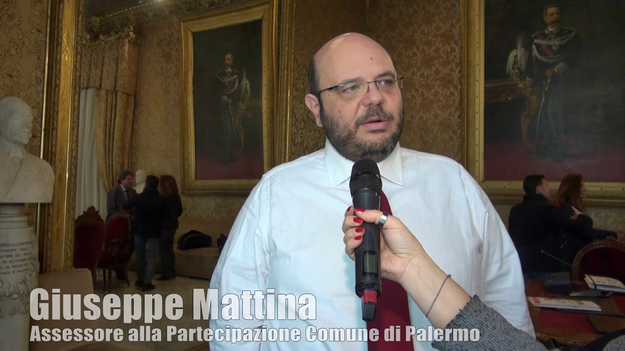 Conferenza Stampa Laboratorio Cittadino. L' Assessore Giuseppe ...