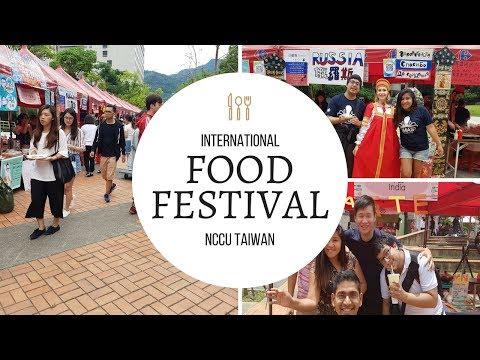 TAIWAN NCCU FOOD FESTIVAL 2017 - VLOG #4