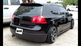 What does a Straight Piped Mk5 GTI Sound Like