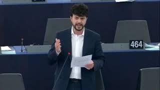Intervento in aula di Brando Benifei relatore sul post primavera araba e le prospettive future per il Medio Oriente e il Nord Africa