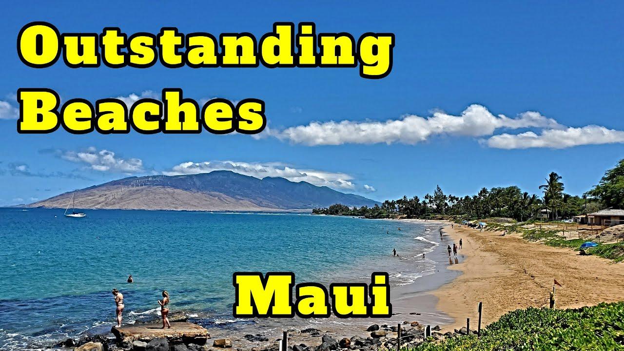 Outstanding Kihei Beaches.  Kamaole Beaches & Kalama Park