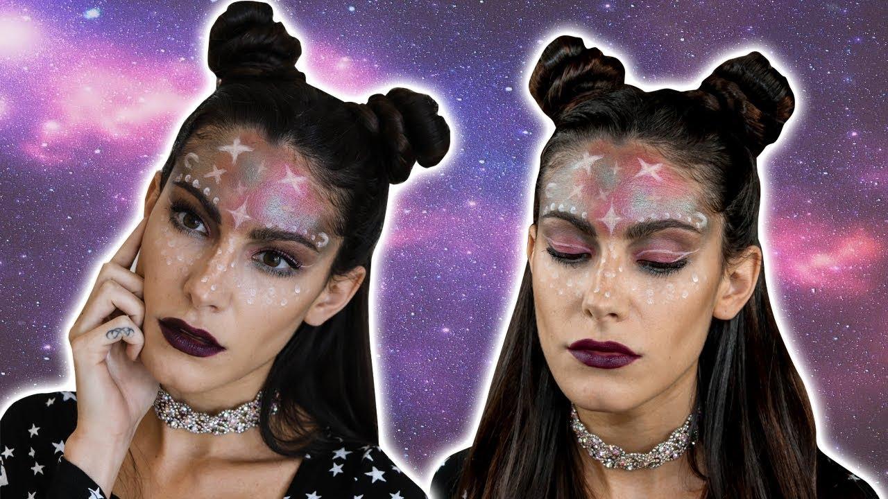 baadeeda5eadb Intergalactic Space Babe Makeup Tutorial