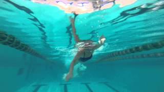 Mary S Swim Boot Camp Mary S Textbook Style Freestyle Underwater View
