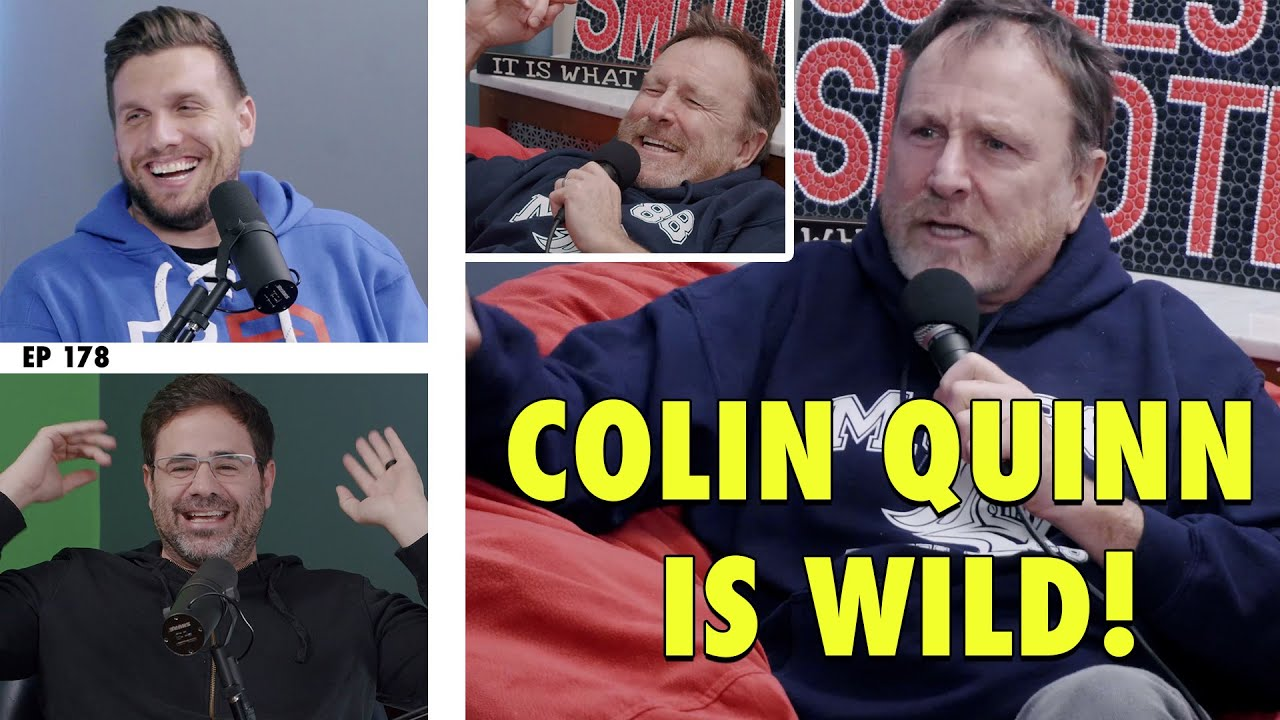 Colin Quinn is WILD! | ep 178 - History Hyenas