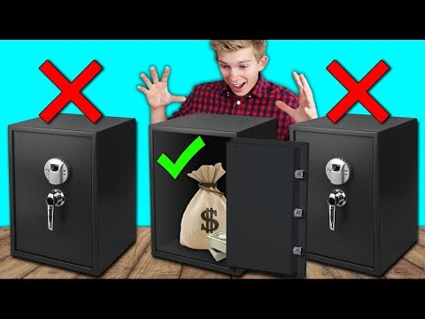 DONT Unlock the Wrong Mystery Safe Challenge!!