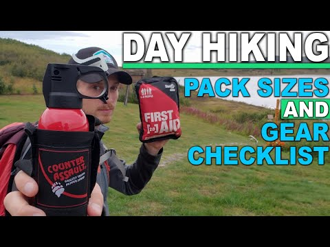 DAY HIKE GEAR | A PROFESSIONAL Hiking Guide Reveals What's In His DAYPACK