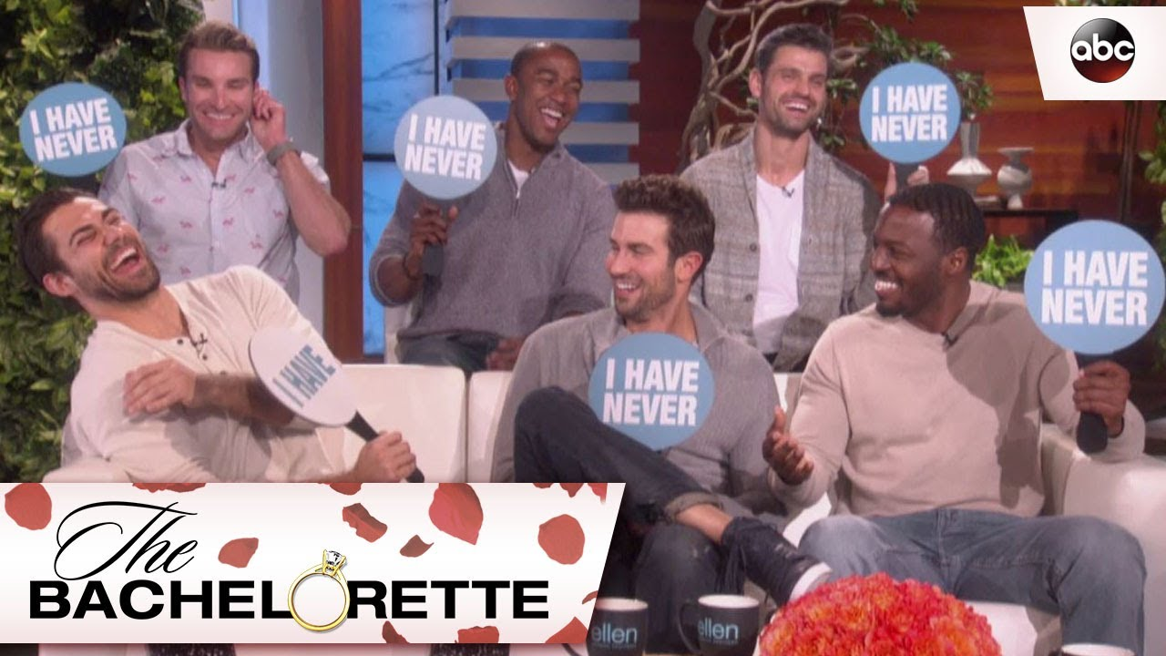 Rachels Men Play Never Have I Ever With Ellen Degeneres