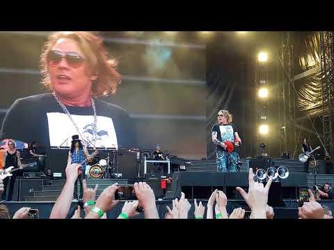 Guns N' Roses - Welcome To The Poland Baby!! @ Stadion Śląski Chorzów 09.07.2018
