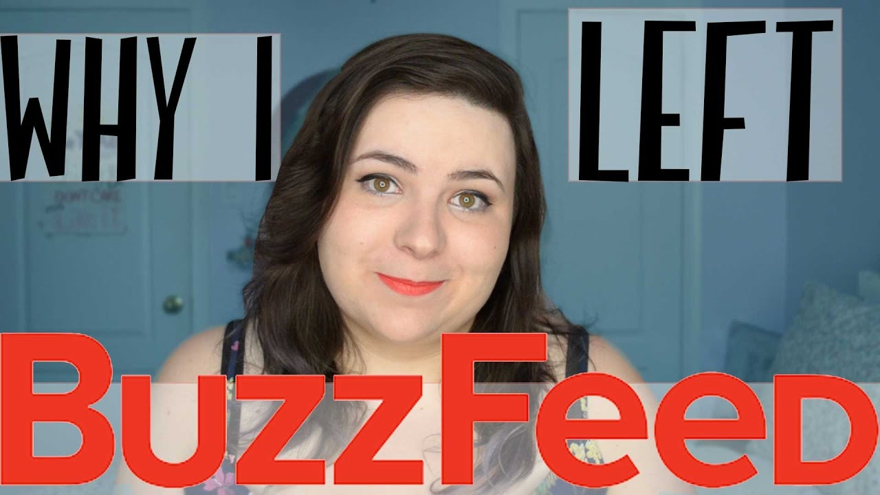 Why You're Seeing 'Why I Left Buzzfeed' Videos Everywhere - Digg