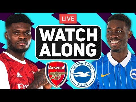 ARSENAL vs BRIGHTON LIVE Stream Watch Along - Premier League Finale
