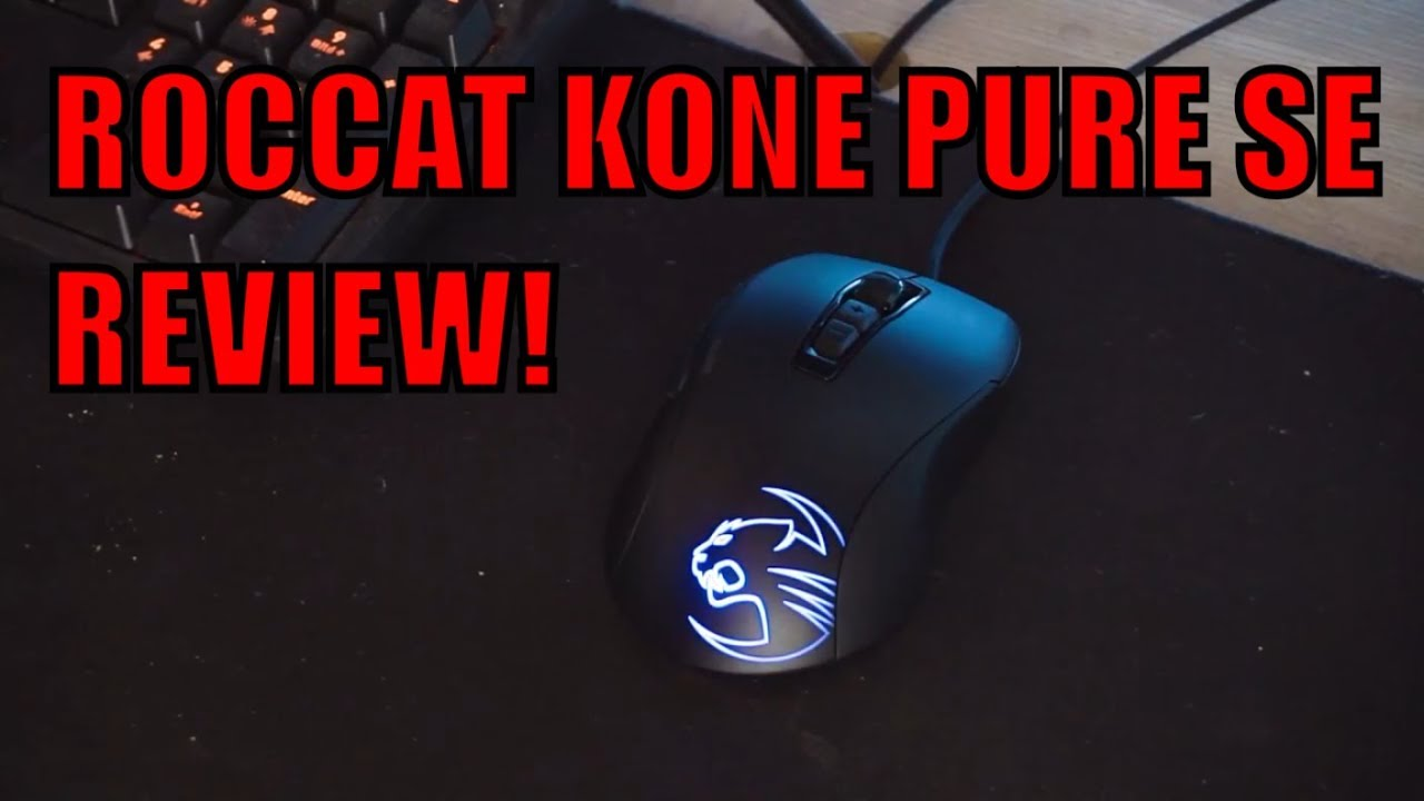 ROCCAT KONE PURE SE UNBOXING UND REVIEW! (40€ Maus!) - YouTube