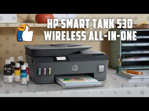 Hp Smart Tank 530 All In One Review And Print Settings Hp Colour Problem Solutions Youtube